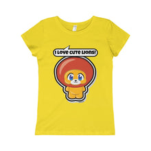 Load image into Gallery viewer, Lion Girls Princess Tee