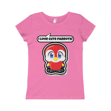 Load image into Gallery viewer, Parrot Girls Princess Tee