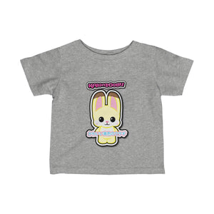 Infant Kawaii Yellow Rabbit Tee
