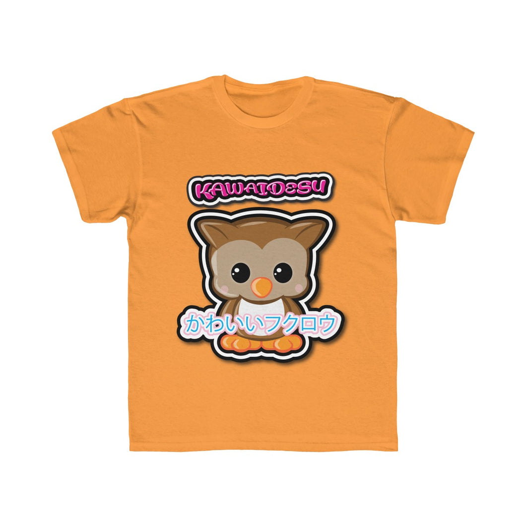 Kids Kawaii Owl Tee
