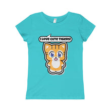 Load image into Gallery viewer, Tiger Girls Princess Tee