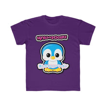 Load image into Gallery viewer, Kids Kawaii Blue Penguin Tee