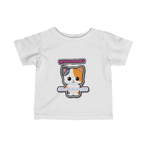 Infant Kawaii Patches Tee