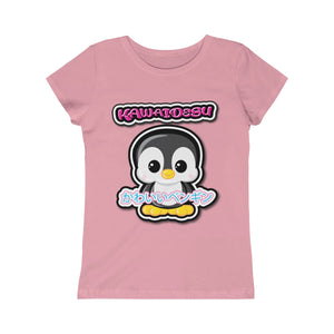 Girls Kawaii Penguin Tee