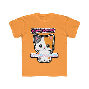 Kids Kawaii Patches Tee