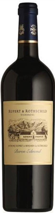 Rupert and Rothschild Baron Edmund