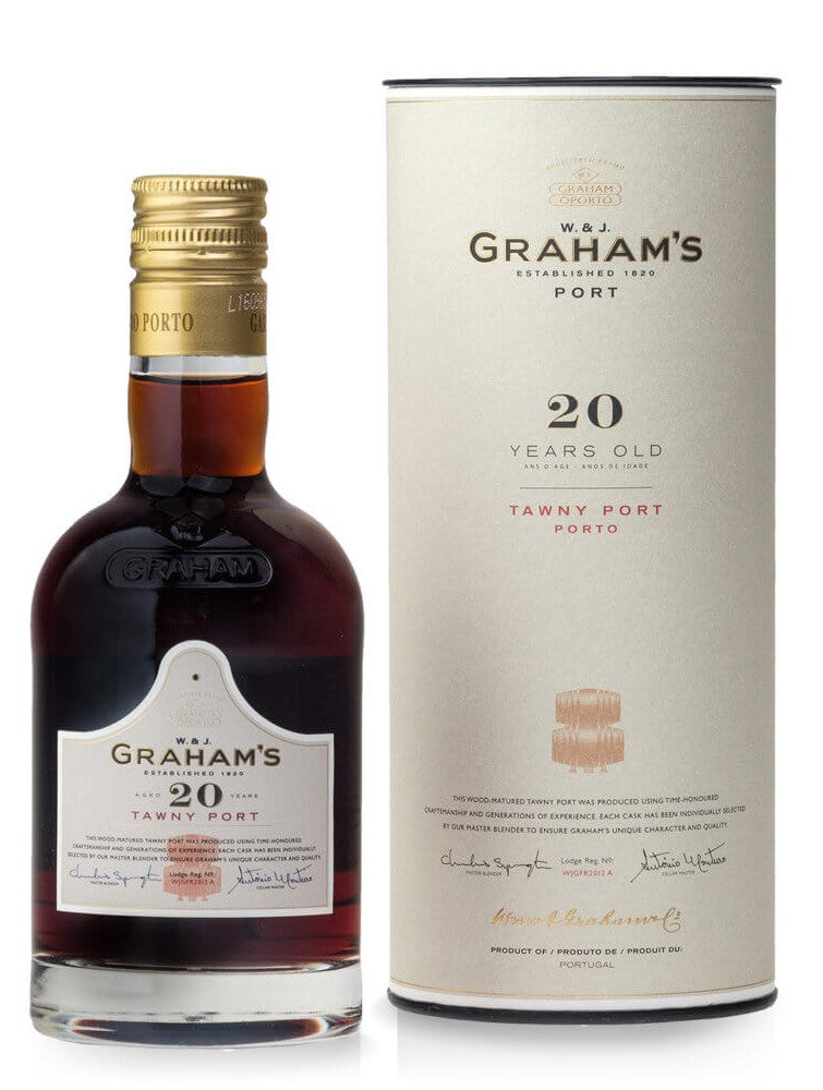 Grahams 20yo Tawny Port 20cl in tube