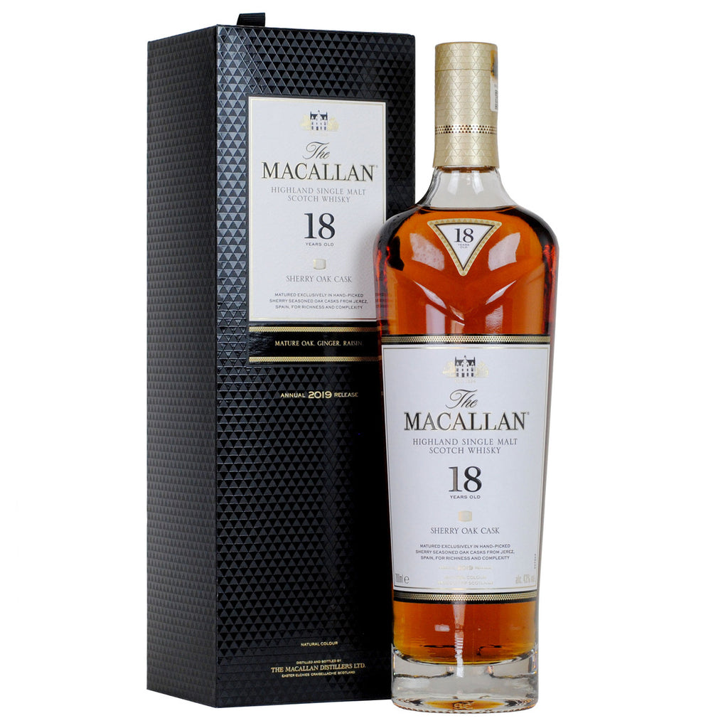 Macallan 18yo Sherry Cask