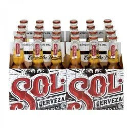 Sol Lager (24x33cl NRB)