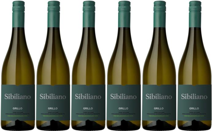 Sibiliana Organic Grillo (Case of 6)