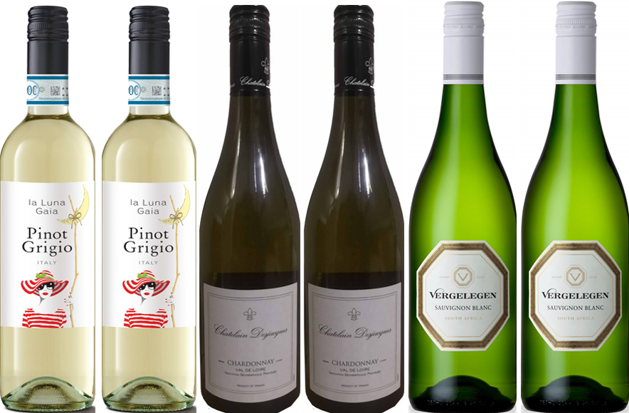 Weekly Mixed Case Whites - 12.5% off (Case of 6)