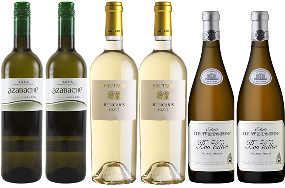 Mixed Case Whites - 12.5% off (Case of 6)