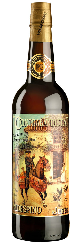 Valdespino Medium Dry Amontillado Contrabandista