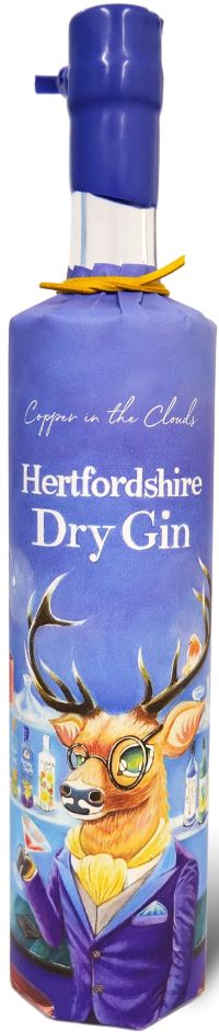 Copper in the Clouds Hertfordhire Dry Gin