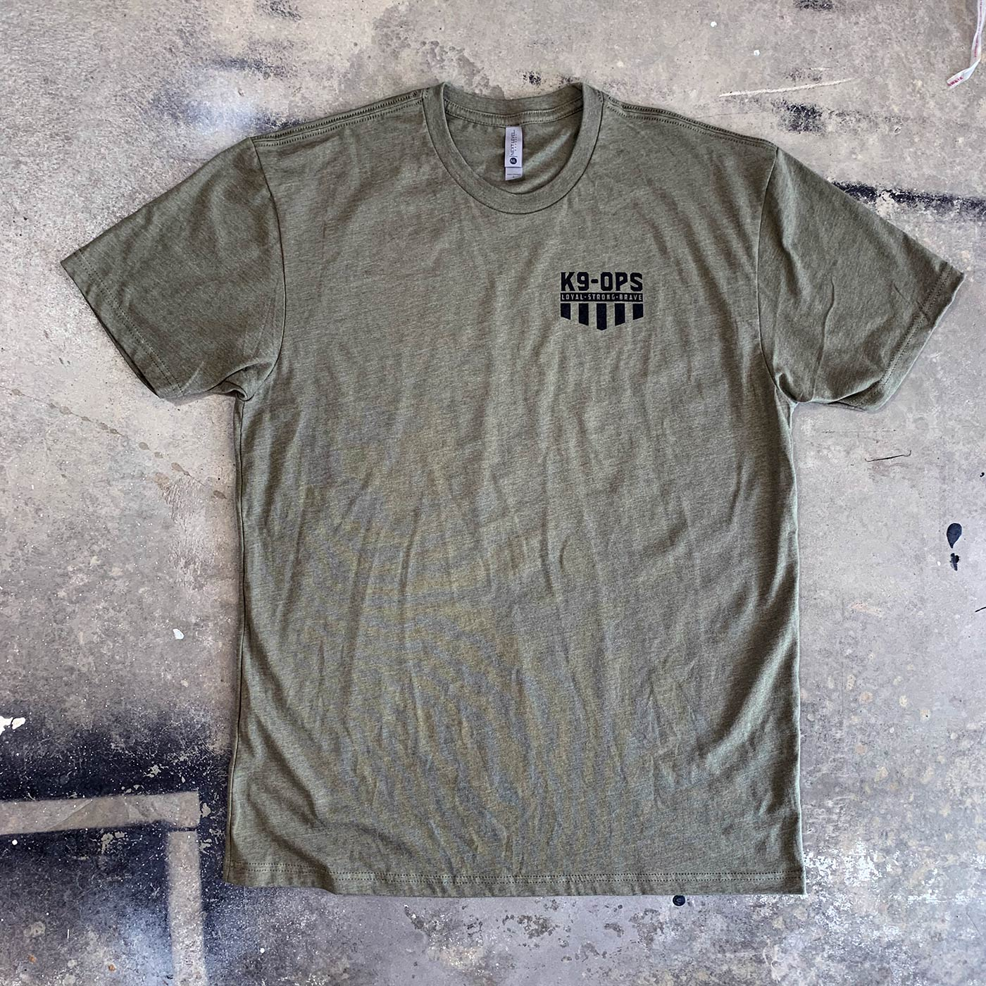 Icon Shirt - Military Green/Black