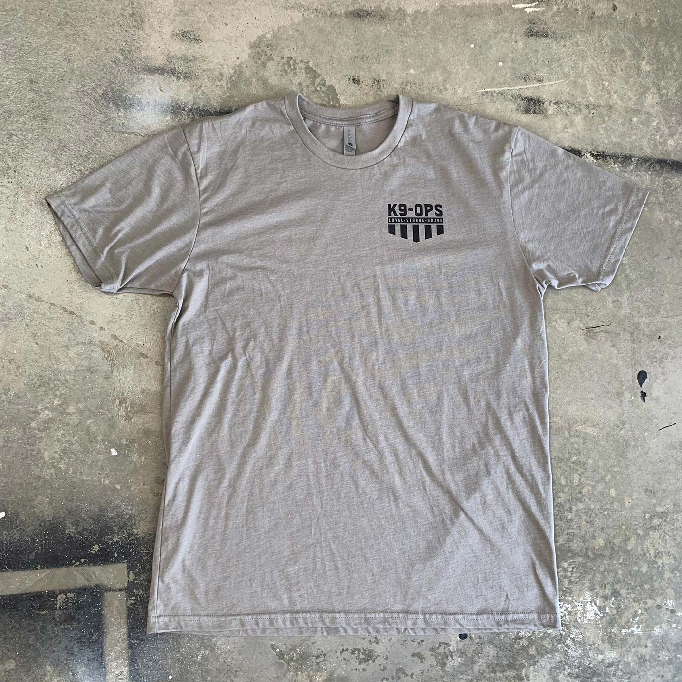 Icon Shirt - Stone Gray/Black