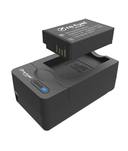 Digipower BP-LPE17 digital camera battery & charger kit, Replacement for Canon LP-E17 battery pack