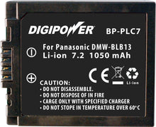 Load image into Gallery viewer, Digipower BP-BLB13 digital camera battery, Replacement for Panasonic DMW-BLB13 battery pack