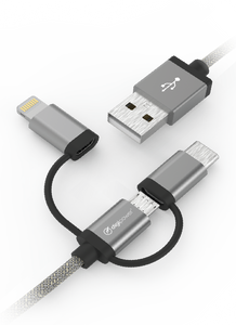 3-in-1 Charge & Sync Cable