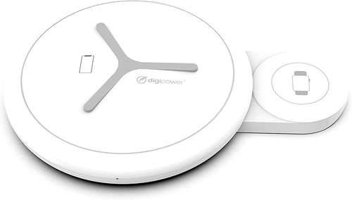 2 in1 Wireless Travel Charger for iPhone & Apple Watch