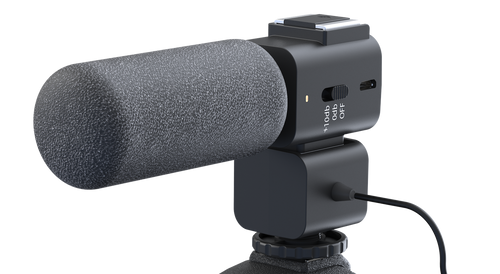 HIGH PERFORMANCE SHOTGUN MICROPHONE