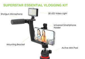 #SUPERSTAR ESSENTIAL Vlogging Kit with Wireless Remote