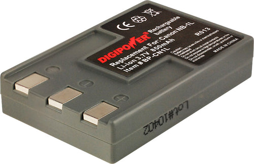 Digipower BP-CN1L digital camera battery, Replacement for Canon NB-1L battery pack