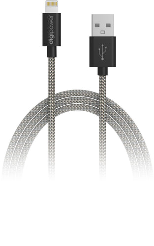 3ft Tangle Free Braided Lightning Cable