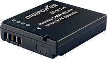 Digipower BP-BCJ13 digital camera battery, Replacement for Panasonic DMW-BCJ13 battery pack