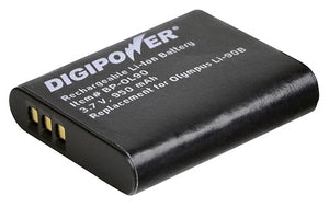 Digipower - BP-OL92- digital camera battery, Replacement for Olympus LI-92B battery pack