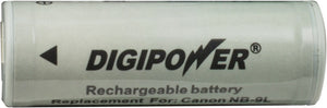 Digipower BP-CN9L digital camera battery, Replacement for Canon NB-9L battery pack
