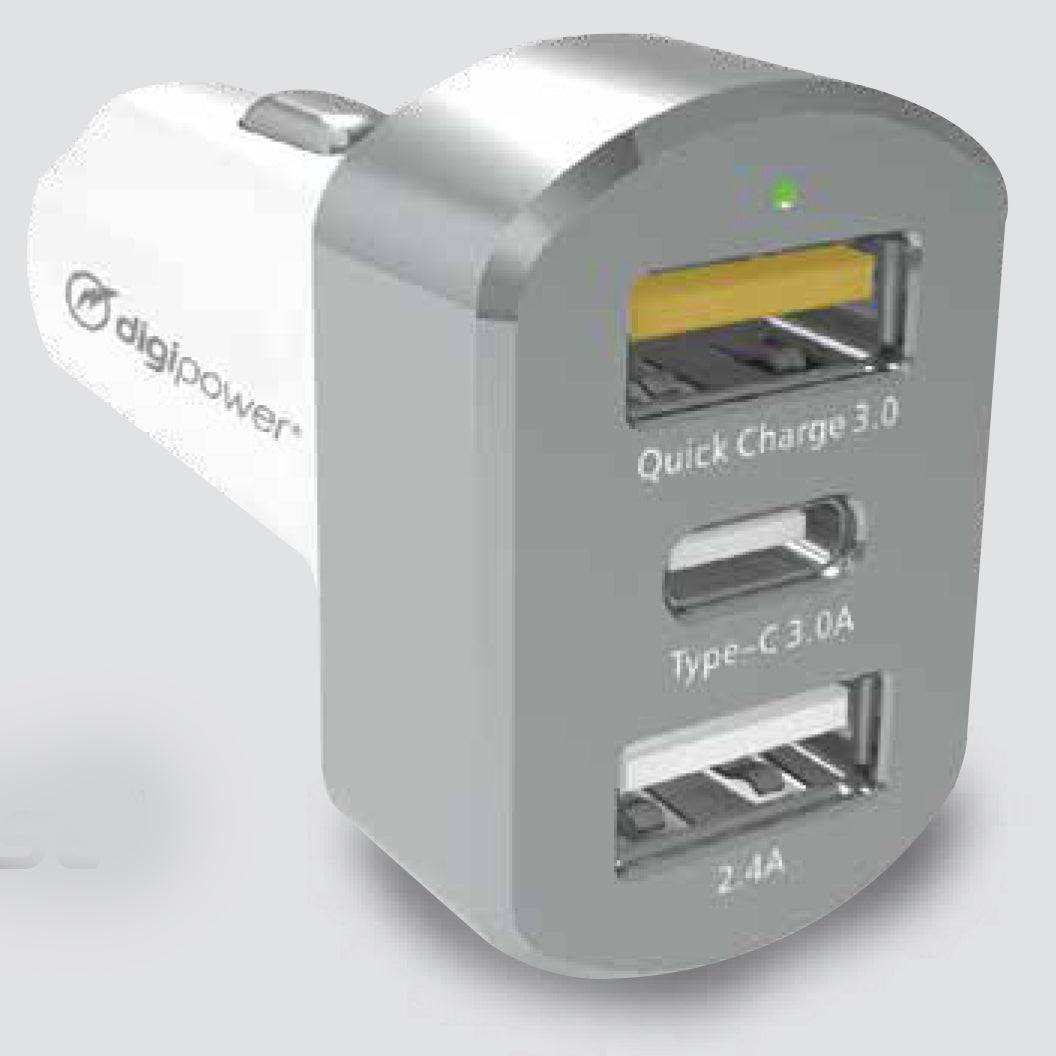 HIGH POWER USB-C CAR CHARGER (CT-PC45H)