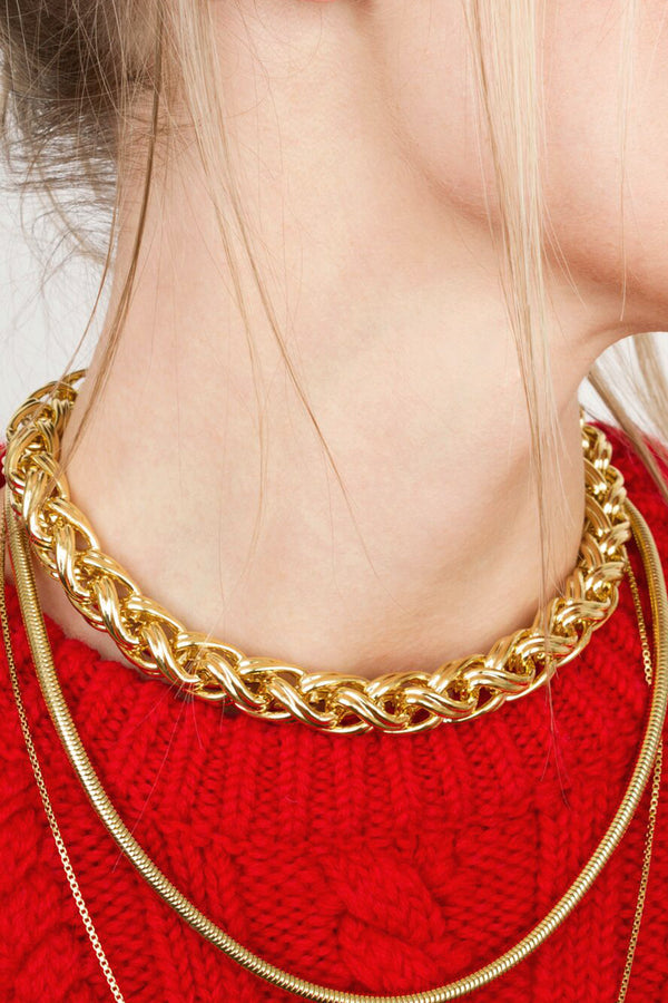 Milano chain necklace