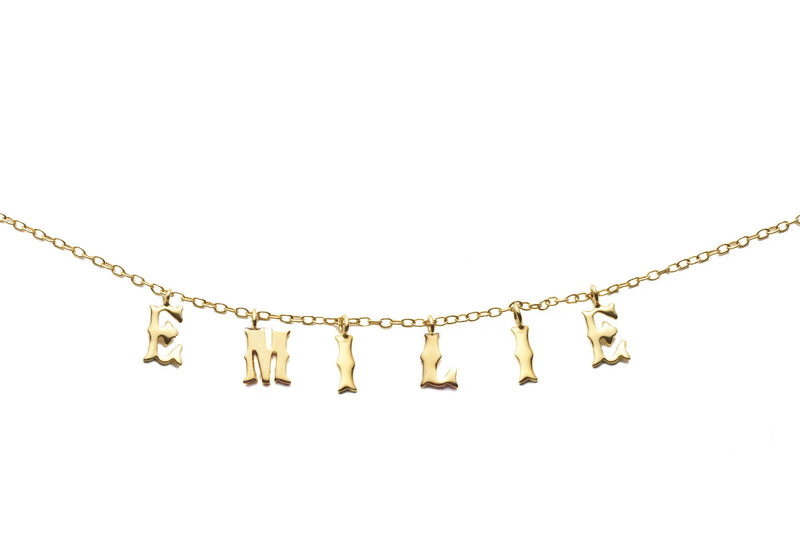 Namelace Letter Necklace