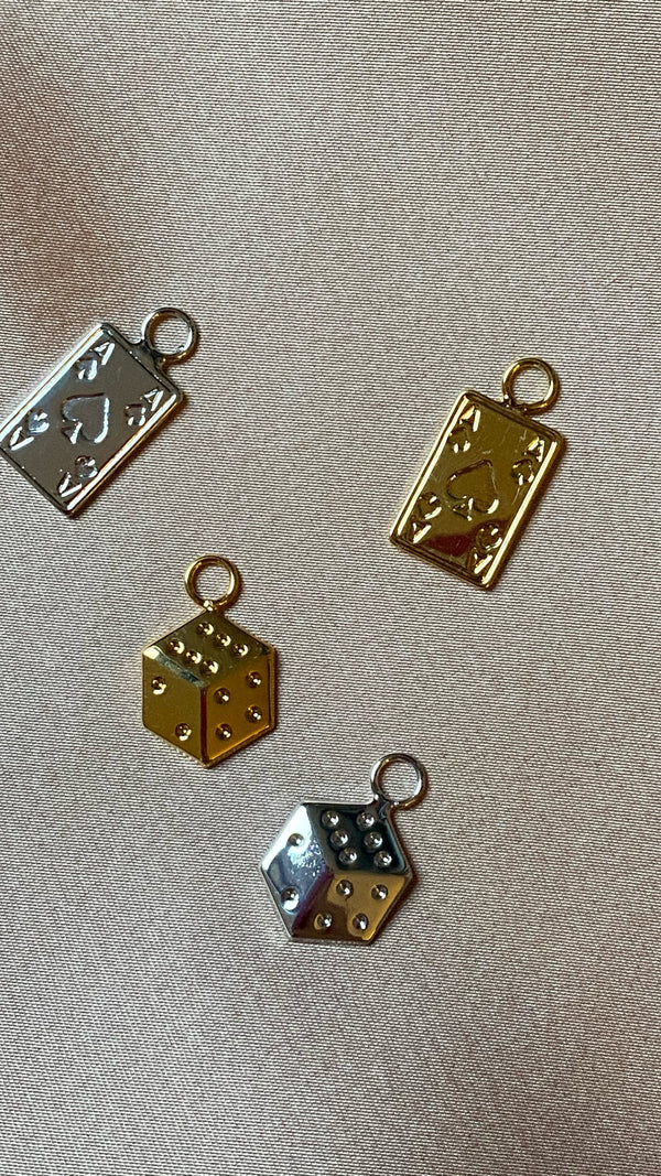 DICE & CARDS Charms