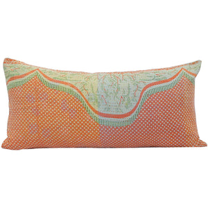 Vintage Kantha Quilt Pillow Cover