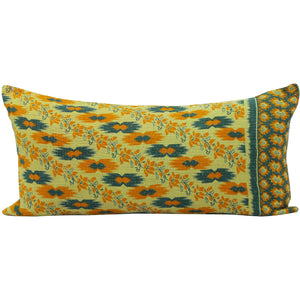 Beige Kantha Cushion Cover