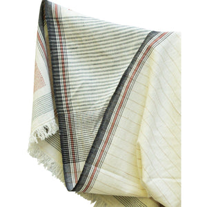 Handwoven Blanket Cotton Scarf for Men