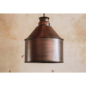 Reclaimed metal Lamp