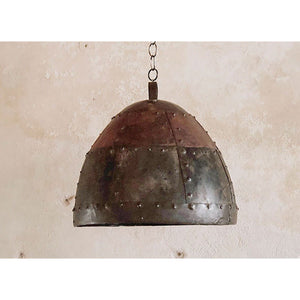 architectural salvage Reclaimed metal Industrial lamp