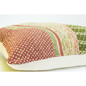 Vintage Kantha Quilt Pillow Case