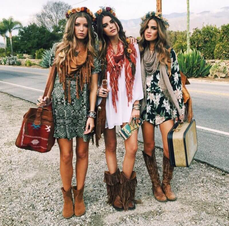 A Peep into 1960s: Hippie Culture, Psychedelic Fashion and ...