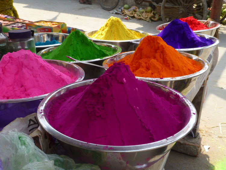 festival of colours in the city