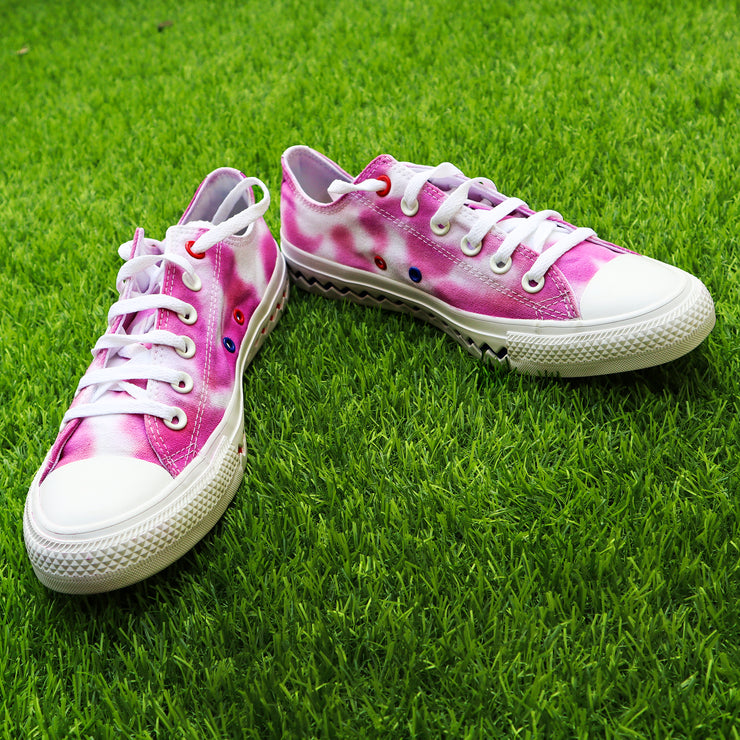 Tie-Dye All-Star Converse Women Sneakers Magenta
