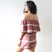 Off-Shoulder and Shorts Coord Set