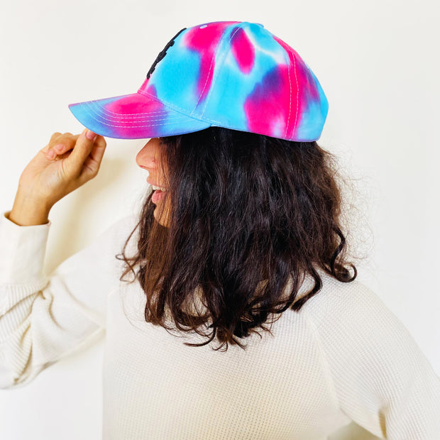 Tie-Dye Unisex Cotton Candy Cap