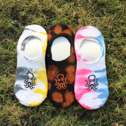Unisex Tie-dye Loafer Socks Pair of 3