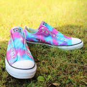 Tie-Dye All-Star Converse Unisex Sneakers Galaxy Lace/ No Lace