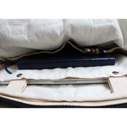 CANVAS DIAGONAL SHIBORI TIE-DYE LAPTOP BAG - Huedee