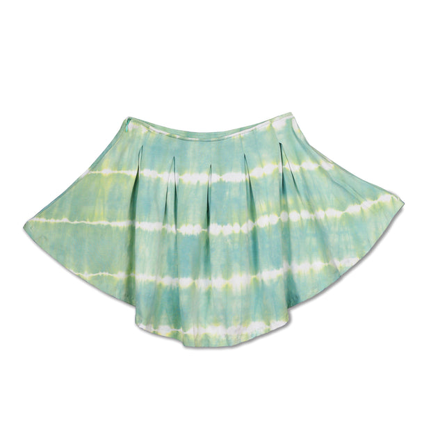 Tie-dye Nile Green Skirt - Huedee
